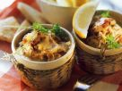 Gratiniertes Würzfleisch mit Pilzen Rezept