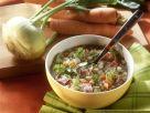 Graupen-Gemüse-Suppe mit Bauchspeck Rezept