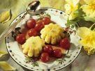 Grießküchlein mit Kirschen Rezept