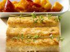 Grießschnitten mit Paprikagemüse Rezept