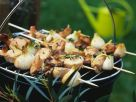 Grillspieße mit Filet und Pilzen Rezept