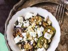 Grillzucchini mit Couscous und Schafskäse Rezept