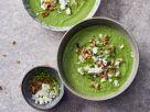 Grüne Gazpacho mit Feta Rezept