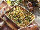 Grüner Nudelauflauf mit Gemüse Rezept