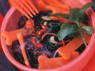 Gruseliger Halloween-Nudelsalat Rezept