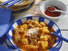 Gulasch mit Sauerkraut (Szegediner) Rezept
