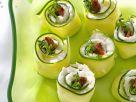 Gurken-Frischkäse-Röllchen Rezept
