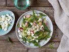 Gurken-Radieschen-Salat mit Feta Rezept
