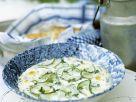 Gurkensuppe mit Buttermilch Rezept