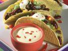 Hack-Bohnen-Tacos Rezept