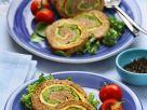 Hackbraten gefüllt mit Brokkoli und Ei Rezept