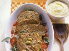 Hackbraten mit Anchovis und Oliven Rezept
