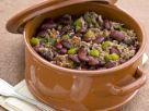 Hackfleisch-Bohnen-Eintopf mit grüner Paprika Rezept