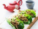 Hackfleisch im Salatblatt Rezept