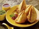 Hackfleisch-Taschen auf indische Art Rezept