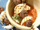 Hackfleischbällchen aus Lammfleisch mit Tomatensauce Rezept