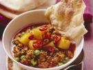 Hacktopf mit Kartoffeln und Erbsen auf indische Art Rezept