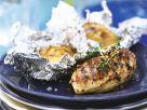 Hähnchebrust mit Folienkartoffeln vom Grill Rezept