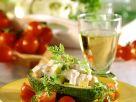 Hähnchen-Avocadosalat Rezept
