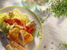 Hähnchen-Cordon Bleu mit Salat Rezept