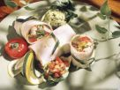 Hähnchen-Gemüse-Fajitas mit Avocadodip Rezept