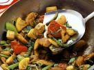 Hähnchen-Gemüse-Pfanne Rezept