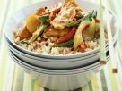 Hähnchen mit Gemüse aus dem Wok Rezept