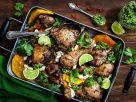 Hähnchen mit Kürbis und Kürbiskern-Pesto Rezept