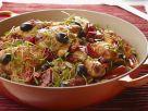 Hähnchen mit Oliven und Paprika auf baskische Art Rezept