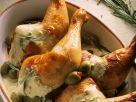 Hähnchen mit Sahnesauce Rezept
