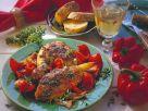 Hähnchen-Paprika-Topf Rezept