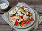 Hähnchen-Reis-Pfanne mit Paprika Rezept