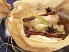 Hähnchenbrust in Papier gebacken Rezept