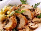 Hähnchenbrust mit Mangoldfüllung Rezept
