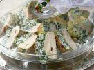 Hähnchenfilet mit Spinat und Ricotta befüllt Rezept