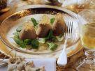 Hähnchenleber-Mousse auf Feldsalat Rezept