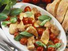 Hähnchenpfanne mit glasierten Cherrytomaten Rezept