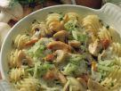 Hähnchenpfanne mit Pilzen und frischer Gurke Rezept