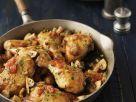 Hähnchenpfanne mit Tomaten und Champignons Rezept