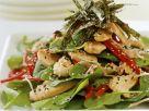Hähnchensalat mit frischem Spinat und Sesam Rezept
