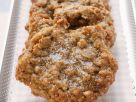Haferplätzchen mit Mandeln und Walnüssen Rezept
