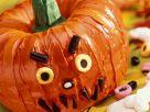 Halloween-Kürbiskuchen Rezept