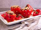 Gefüllte Halloween Paprika à la Chili con Carne Rezept