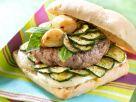 Hamburger im Ciabatta-Brötchen Rezept