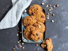 Haselnuss-Schoko-Cookies mit Sauerteig Rezept