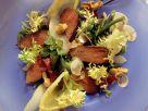 Hasenfilet auf Salatbett Rezept