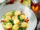 Hazer Käse mit Salat Rezept