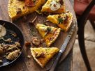 Herbstlicher Kürbis-Lauchkuchen Rezept