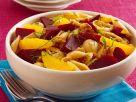 Herbstlicher Nudelsalat Rezept
