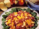 Herbstllicher Salat Rezept